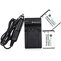 Powerextra 2 Pack Replacement Canon LP-E17 Battery With Charger for Canon EOS M3, M5, M6, Rebel SL2, Rebel T6i, Rebel T6s, Rebel T7i, EOS 77D, 760D, 750D, 800D, Kiss X8i Digital SLR Camera