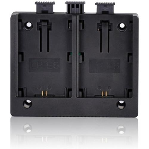 MustHD Canon LP-E6 Battery Plate for On-Camera Field Monitor by MustHD