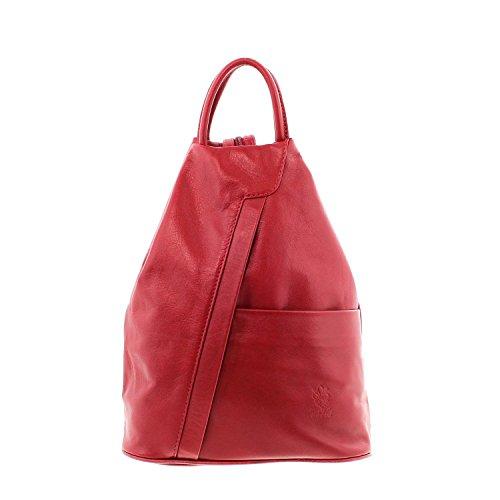 IO dos sac le MIO main Borsetta bretelles à en port à per IO femme bordeaux Sac rot à Icone® pour AaqRwA6r