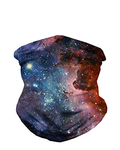 INTO THE AM Milky Way Seamless Mask Bandana (Best Small Ski Towns To Live In)