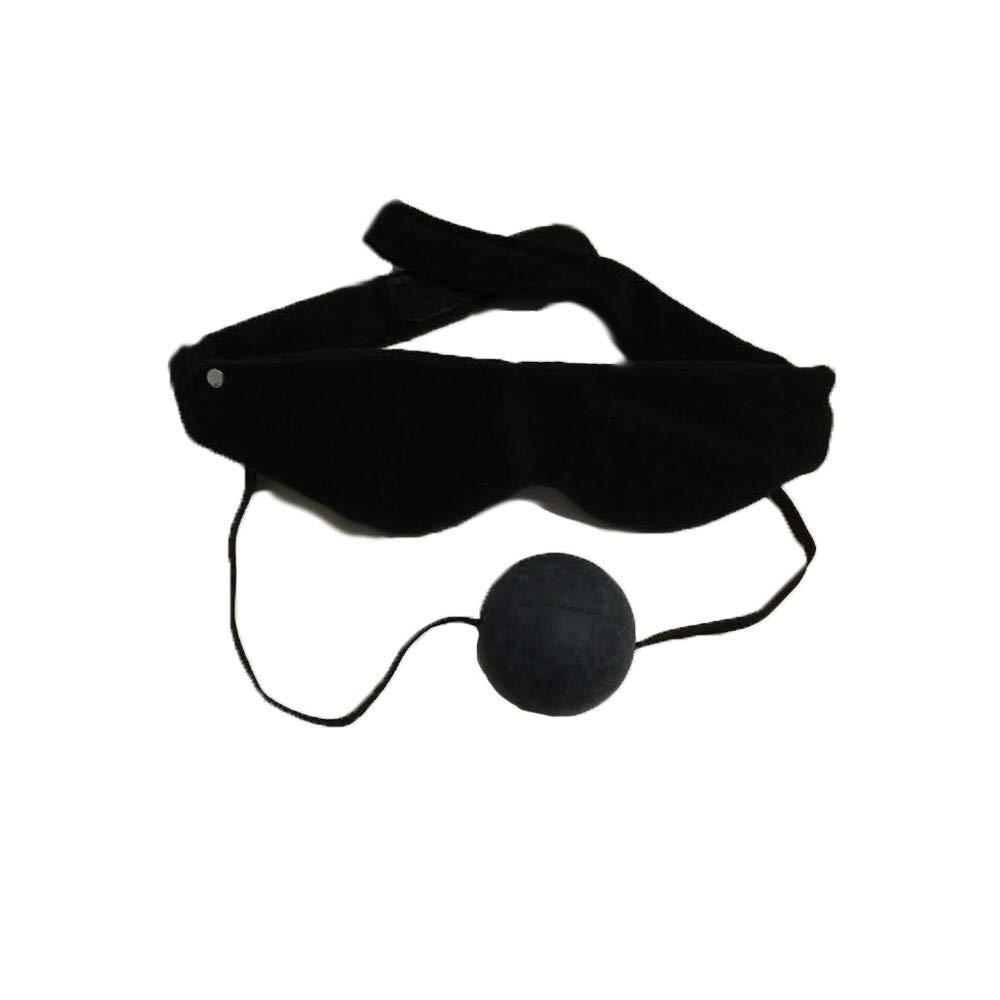 Fleece Blindfold with Ball G-Â'G - Black by Illuminaughty inc