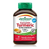 Jamieson 7996 Ultra strength curcumin turmeric Tablets, 30 Count