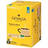 Gevalia Signature Blend DECAF (12-Count Box) (Pack of 6) (Retail Packaging)