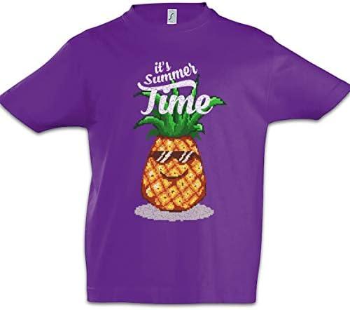 Urban Backwoods Pineapple Summer Time Jungen Kinder Kids T-Shirt