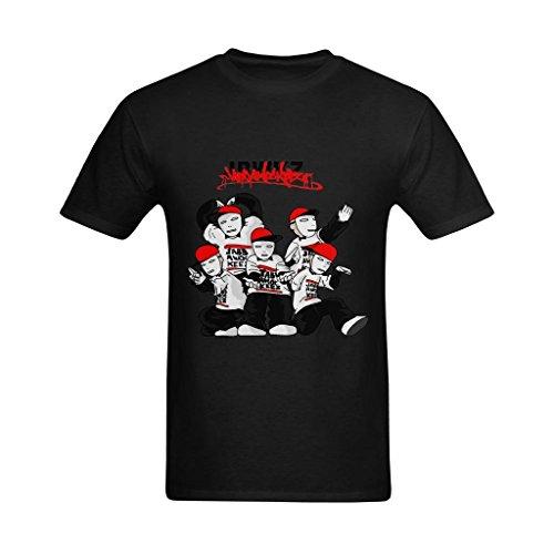 TshirtPark Men's Americas Best Dance Crew Jabbawockeez T-Shirt (Best Of America's Best Dance Crew)