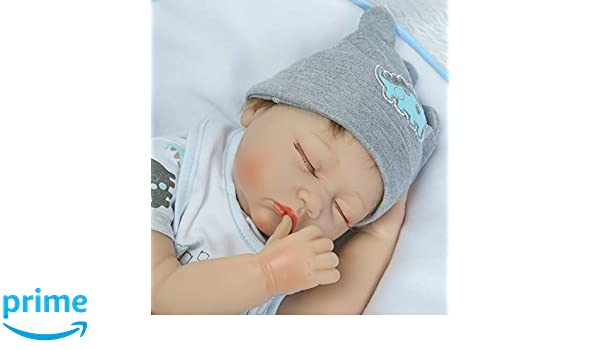 Amazon.com : Reborn Baby Dolls Boys Lifelike Newborn Baby Doll ...