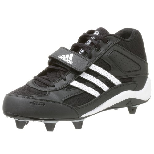 - adidas Men's Corner Blitz 7 D Mid,Black/Runwht/Metsil,10 M