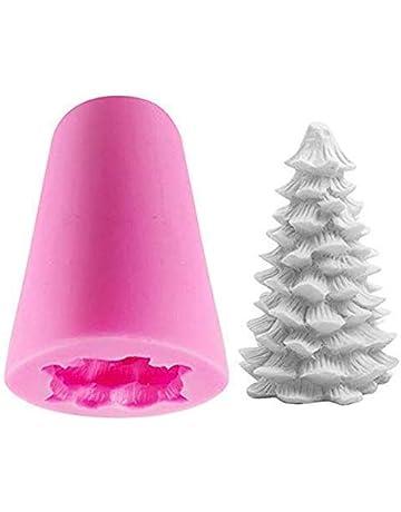 4 Pièce Balle Bougies Ø 98 mm Ronde DECO BOUGIE Metallic une couleur Noël B