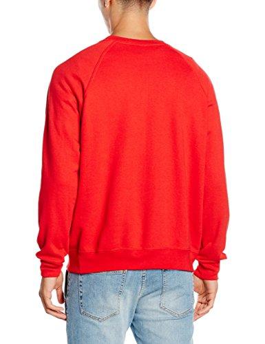 Fruit Of The Loom 62-216-0, Sudadera Para Hombre Rojo (Light Red)