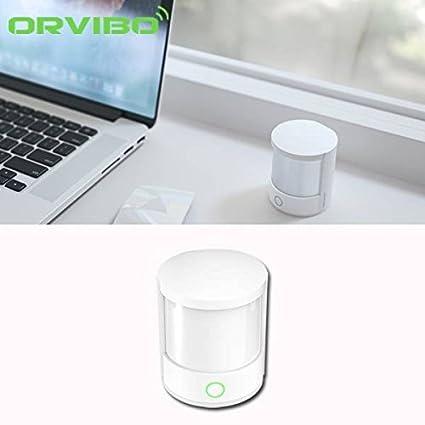 [Envio Gratis] Mini de alarma Orvibo WiFi Smart Sensor de movimiento PIR Casa sistema