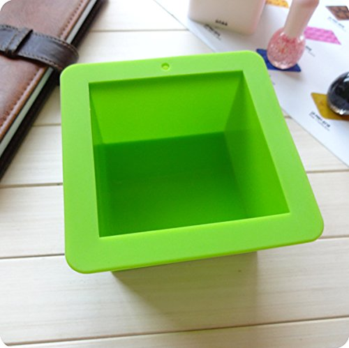 LifeUp Cube Moule /à Cake en Silicone Douce Savon Savon Bricolage 500 ml
