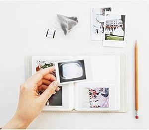 [7 in 1 Intax Mini 8 Camera Accessories] Fujifilm instax Mini 8 Instant Camera Accessories Bundles (Included: Fujifilm Mini 8 Case Bag/ Hard Cover Style Fujifilm Mini 8 Album/ Rabbit Design instax mini 8 Close-Up selfie Lens/ 4 colors Close-Up Lens For Mi