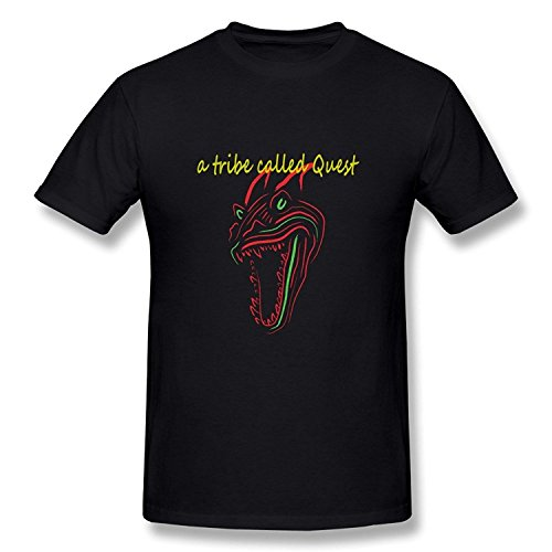 WunoD Men's A Tribe Called Quest Logo T-shirt Size S -