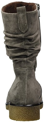 Gabor Women's Comfort Sport Boots, Grey Brown (Wallaby Sn/Mel 32)