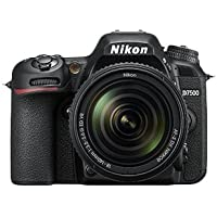 Nikon D7500 with AF-S VR NIKKOR 18-105mm VR lens (International Model No Warranty)