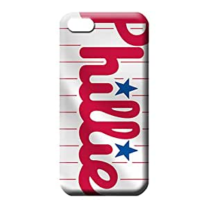 iphone 5 5s mobile phone case Protection Classic shell Awesome Phone Cases philadelphia phillies mlb baseball