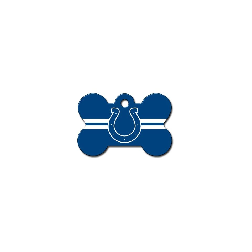 Officially Licensed NFL Indianapolis Colts Pet Tag Id
