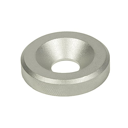 J.W. Winco 6341-NI-4-10-B-MT GN6341-NI Washer with Bore for Countersunk Screw, 4 mm Bore, 10 mm OD, 2.5 mm Thickness, Stainless Steel