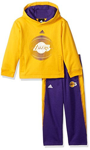 Lakers Adidas Jersey (NBA Toddler Los Angeles Lakers Classic Fan Fleece Set-Gold-3T)