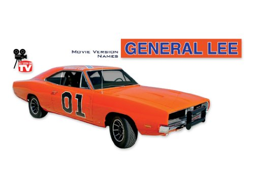 1968 1969 1970 Dodge Charger General Lee COMPLETE Decals & Stripes Kit TV NAMES - (General Lee Stickers)