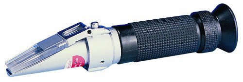 Reed R9500 Brix Refractometer with Automatic Temperature Compensation, 0 to 32 percent Brix Range, +/-0.01 percent Accuracy, 0.1 percent Resolution by REED Instruments