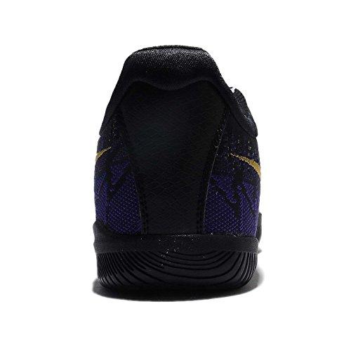 Nike Mænds Kobe Mamba Raseri Basketball Sko Sort / Tour Gul-domstol Lilla wXXwAo8V