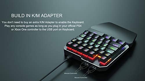 Delta essentials Keyboard and Mouse Set Built in Adapter for