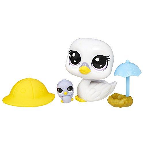 Littlest Pet Shop Swanna Shadely & Paddleston Shadely