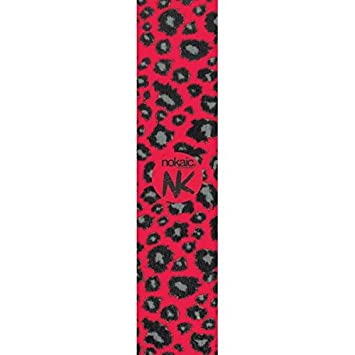 Cinta de agarre Nokaic No28 rojo Leopard Stunt-Scooter cinta ...