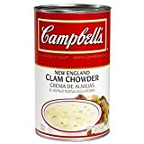 Campbells Condensed New England Clam Chowder - 50 oz. can, 12 per case