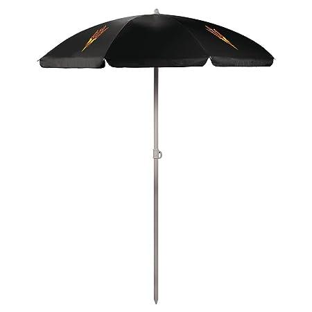 NCAA Arizona State University Sun Devils Digital Print Umbrella, Black, One Size