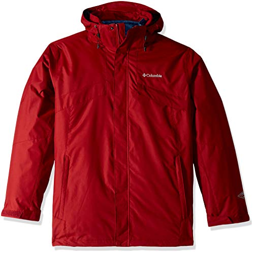 Columbia Men's Bugaboo Ii Big & Tall Fleece Interchange Jacket, Red Element, ()