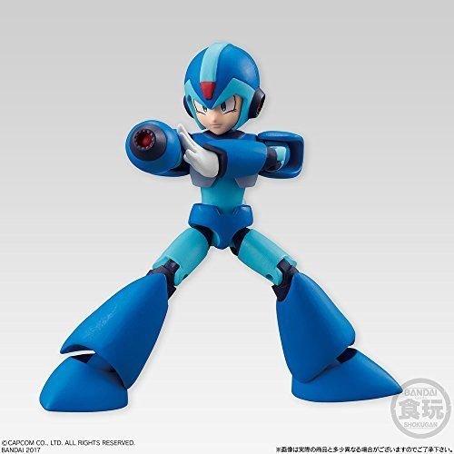 Mega Man 66 Action Dash Mega Man X Dash Effect Character Mini Action Toy Figure Approx  66Mm   2 6 In Bandai Shokugan