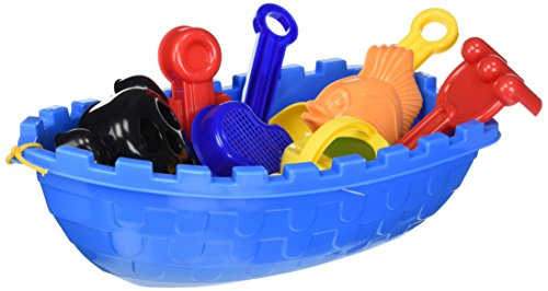 Toysmith Pirate Ship Beach Set