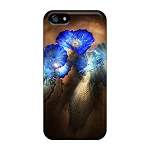 Tough Iphone Case Cover/ Case For Iphone 5/5s(sea Flowers 3d)
