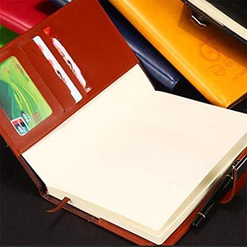Flybloom Kreatives Briefpapier Retro Notizbücher Student Notizbuch Tagebuch Code Buch Geschenk (Braun)