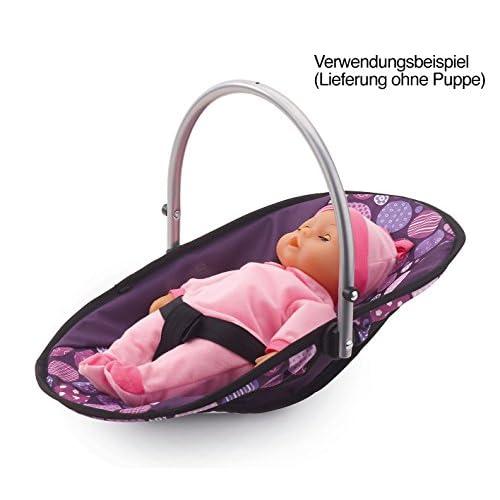 Bayer Design 63694AB - Vario Set 9 En 1 - Chaise Haute Pourpre
