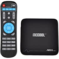 Areware M8S PRO Android 7.1 TV Box Amlogic S905X 64 bit Quad-core DDR3 2GB 16GB 2.4 WiFi 4K UHD & LAN VP9 DLNA H.265