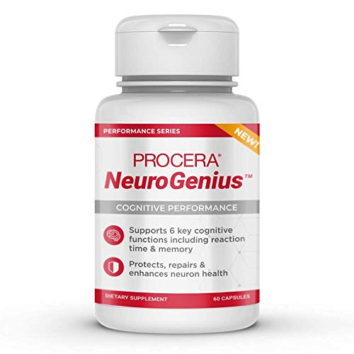 Procera NeuroGenius – Clinically Studied Nootropic Brain Supplement | Breakthrough Neuron Repair Formula | Supports…