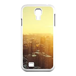 Samsung Galaxy S 4 Case, urban sunrise Case for Samsung Galaxy S 4 White