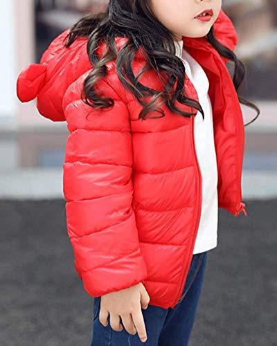 à à tout garçon glissière fermeture capuche fille légère petit pour Zhrui chaude veste Z6YEwE
