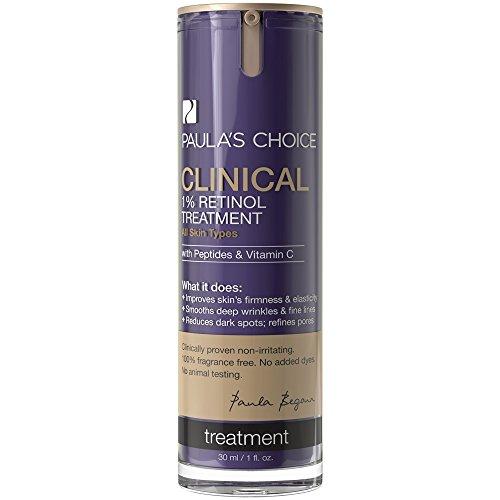 Paula's Choice CLINICAL 1% Retinol Treatment with Peptides & Vitamin C for Deep Wrinkles – 1 oz