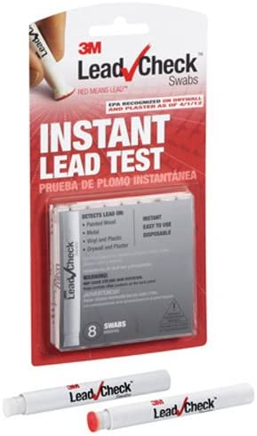 3M – 717834209102DUPE LeadCheck Swabs, Instant Lead Test, 8-Pack