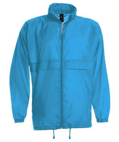 B&C Windbreaker 'Sirocco' Sirocco,Farbe:Pixel Turquoise;Größe:M