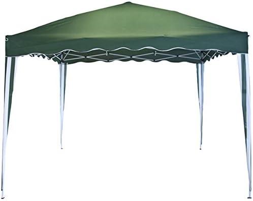 Hepoluz 83048 Velador Poliéster y Aluminio Extensible, Verde, 300x300x268 cm: Amazon.es: Jardín