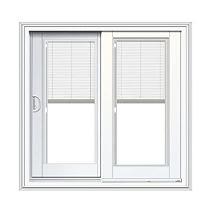 Amazon French Sliding Patio Door With Blinds Between Glass In