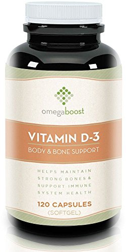 Omegaboost Vitamin D3 120 Capsules product image