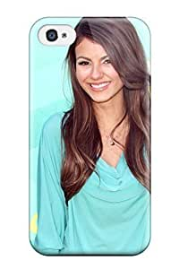 Hard Plastic Iphone 4/4s Case Back Cover,hot Victoria Justice Case At Perfect Diy