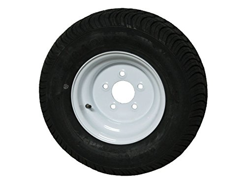 Tracker Pontoon Boat Trailer Tire & Wheel odd 5 on 5.5' for 20.5x8.0-10 tire LRE