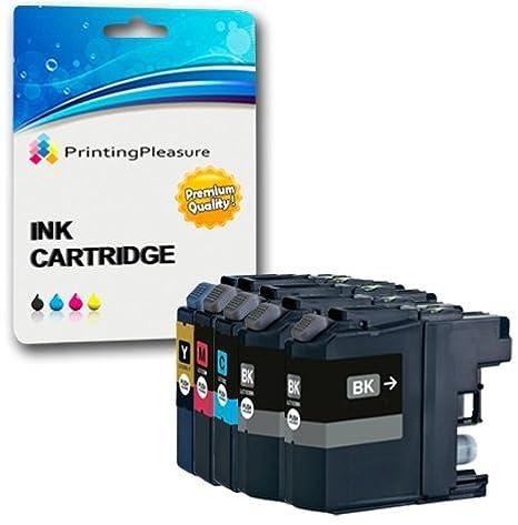 10 Cartuchos de Tinta compatibles para Brother DCP-J562DW, MFC-J480DW, MFC-J680DW, MFC-J880DW | LC-221